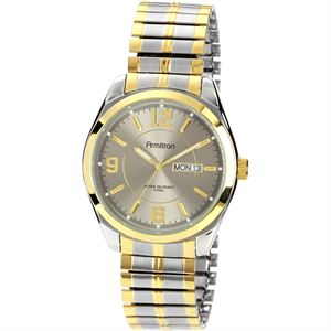 Men's Two-Tone Expansion Band Dress Watch 20-4591GYTT