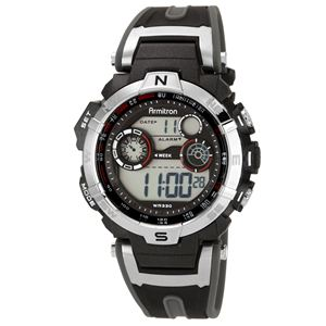 Men's Chronograph Digital Sport Watch 40-8231RDGY