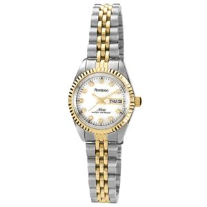 Women's Swarovski Crystal Accented Two-Tone Bracelet Watch 75-2475MOP