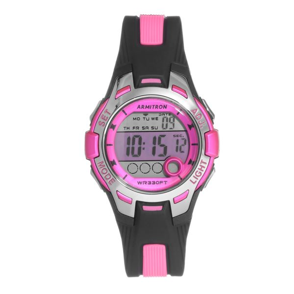 Women's Pink Sport Watch 45-7030PNK