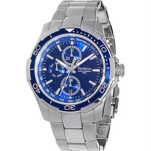 Men's Stainless-Steel Multi-Function Watch 20-4677BLSV