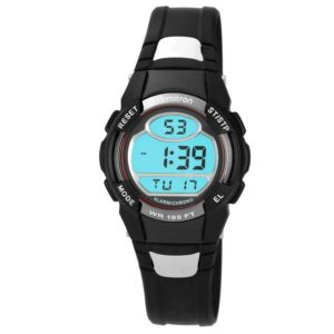 Unisex Chronograph Black Digital Watch 45-6975RED