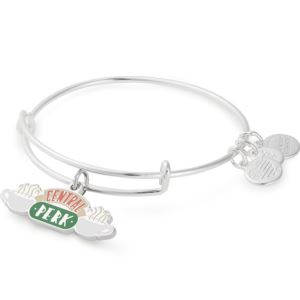 Friends™ Central Perk Bangle - Shiny Silver Finish AS19EBFRD07SS