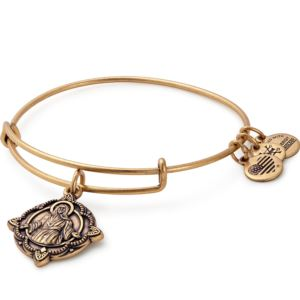 Jesus Bangle - Rafaelian Gold Finish A17EBJSRG