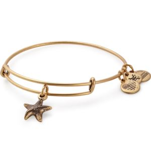 Starfish Charm Bangle - Rafaelian Gold Finish A17EBSTRFRG