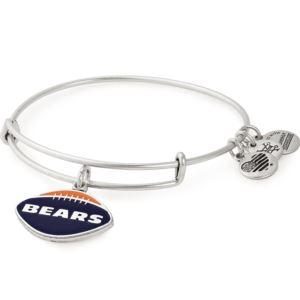 NFL Chicago Bears Football Charm Bangle - Rafaelian Silver AS18CB01RS
