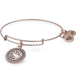 Game of Thrones - Fire and Blood Bangle - Rafaelian Rose Gold Finish AS19GOT05RAR