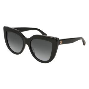 Women's Cat Eye Sunglasses - Black GG0164S-001