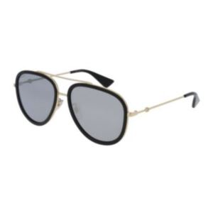 Aviator Sunglasses - Gold GG0062S-001