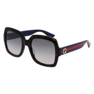 Women's Square Sunglasses - Brown/Blue GG0036S-004