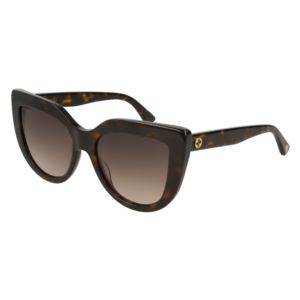 Women's Cat Eye Sunglasses - Havana GG0164S-002