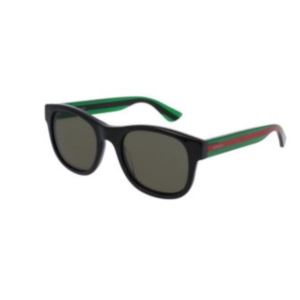 Unisex Round-frame Sunglasses - Black GG0003S-002