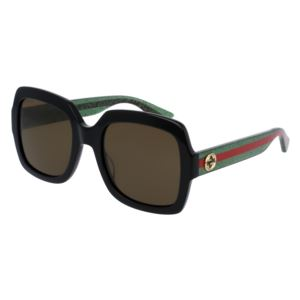 Women's Square Sunglasses - Brown/Green GG0036S-002