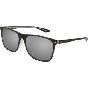 Unisex Acetate Sunglass - Black/Silver PU0127SA-005