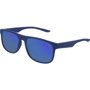 Men's Rubberized Sunglass - Blue/Silver PU0192S-003