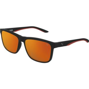 Men's Injection Sunglass - Black/Red PU0193S-005
