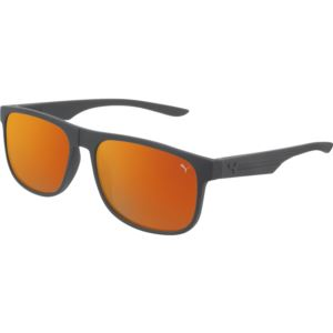 Men's Rubberized Sunglass - Grey/Orange PU0192S-004