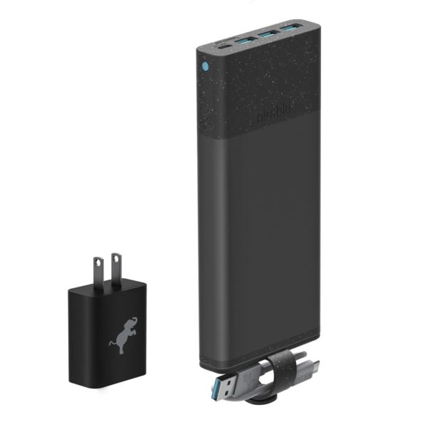 10-Day Fast Portable Charger Bundle NB-PC-26K-PD-BLK