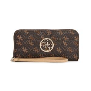 Kamryn Large Zip Around Wallet - Brown GB-SG669146-BRO