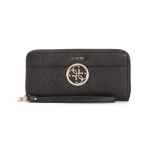 Kamryn Large Zip Around Wallet - Black GB-VG669146-BLA