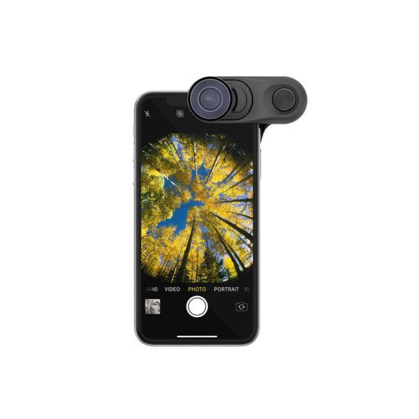 Fisheye + Super-Wide + Macro Essential Lenses for iPhone XS OC-0000314-EU