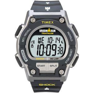 Men's Ironman Classic Shock 30-Lap Black Resin Strap Watch T5K195