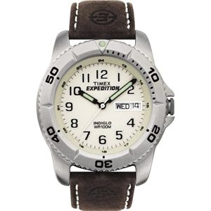 Men's Expedition Watch with Leather Strap T46681