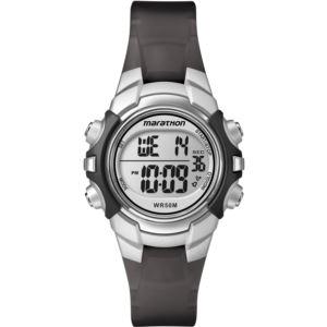 Women's Marathon Watch - Black/Silver T5K805