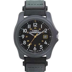 Unisex Traditional 30-Lap Black and Gray Resin Strap Watch T42571