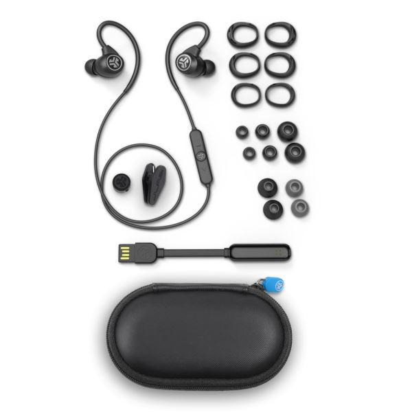 Epic Sport Wireless Earbuds, Black EBEPICSPORTRBLK42