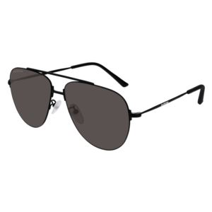 Women's Metal Aviator Sunglass - Black BB0013S-001