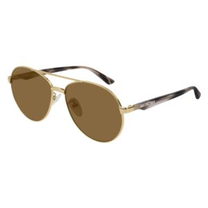 Women's Metal Aviator - Havana/Brown BB0019SK-002