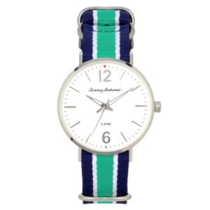 Men's Delray Watch - Blue/White/Green TB00017-01