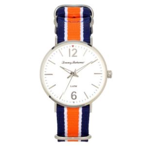 Men's Delray Watch - Blue/White/Orange TB00017-02