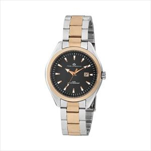 Women's Black Dial Stainless Steel Dress Watch TAL320