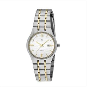 Women's Two-Tone Silver Dial Dress Watch TAL316-TT