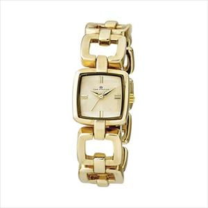 Women's Polished Gold Dress Watch TAL308-GD