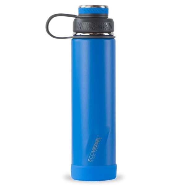 BOULDER TriMax® Insulated Stainless Steel Water Bottle - 24 oz - Hudson Blue BLDR24HB