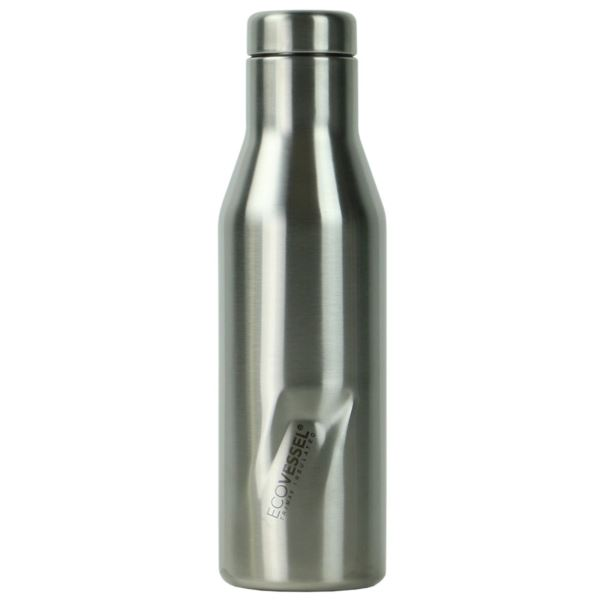 The Aspen - Silver Insulated Stainless Steel Water Bottle - 16 Oz ASPN16SE