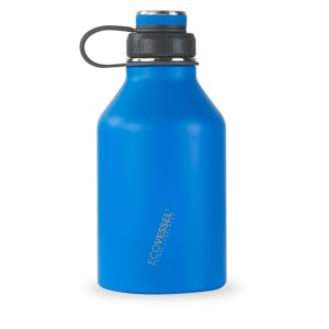 BOSS - 64oz TriMax Triple Insulated Growler with 2-Piece Screw Cap and Infuser - Blue GRL1900HB
