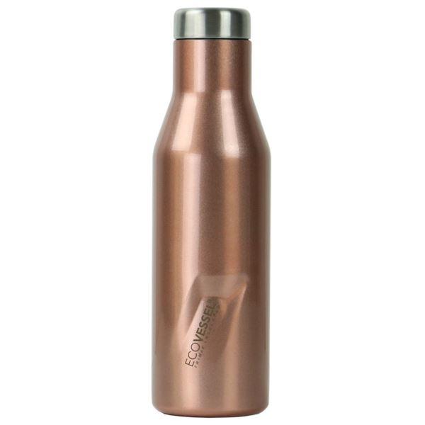 The Aspen - Rose Gold Insulated Stainless Steel Water Bottle - 16 Oz ASPN16RG