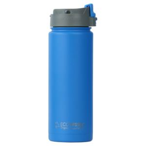 Perk - 20Oz TriMax Triple Insulated Bottle With Push-Buttom Flip Lid - Blue PER600HB