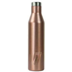 The Aspen - Rose Gold Insulated Stainless Steel Water & Wine Bottle - 25 Oz ASPN25RG