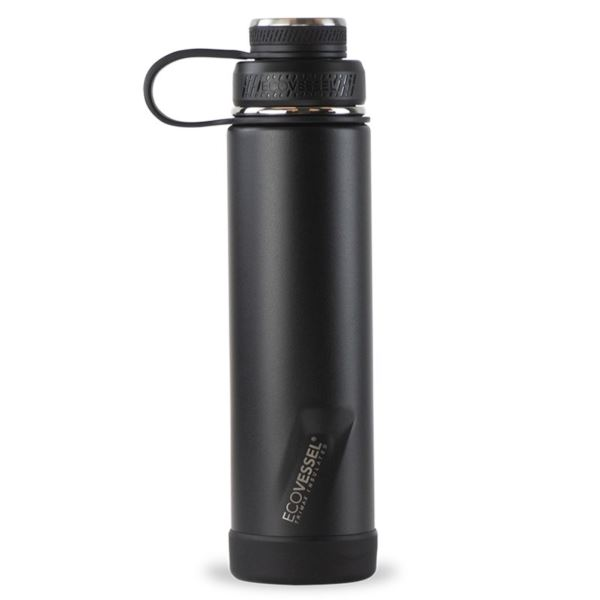 BOULDER TriMax® Insulated Stainless Steel Water Bottle - 24 oz - Black Shadow BLDR24BS