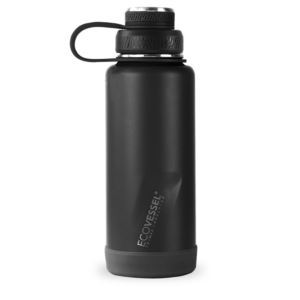 BOULDER TriMax®   Insulated Stainless Steel Water Bottle - 32 oz - Black Shadow BLDR32BS