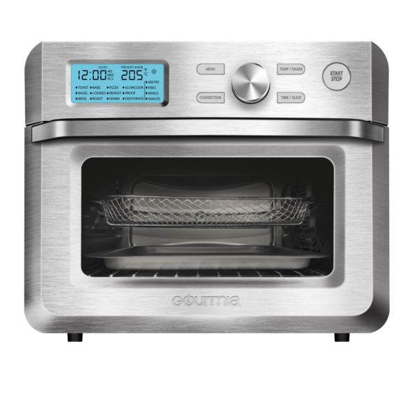 Digital Stainless Steel  0.7 Cu. Ft. 6 Slice Toaster Oven Air Fryer GTF7600