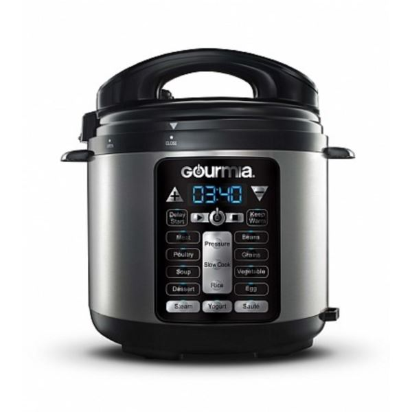 4 Qt ExpressPot Electric Digital Multifunction Pressure Cooker, 13 Programmable Cooking Modes, GPC400