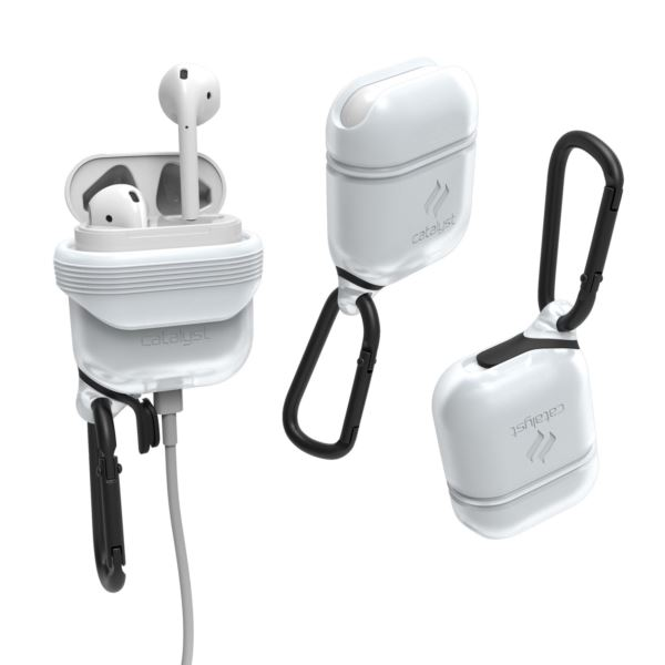 Catalyst®  Frost White waterproof AirPod Case CATAPDWHT