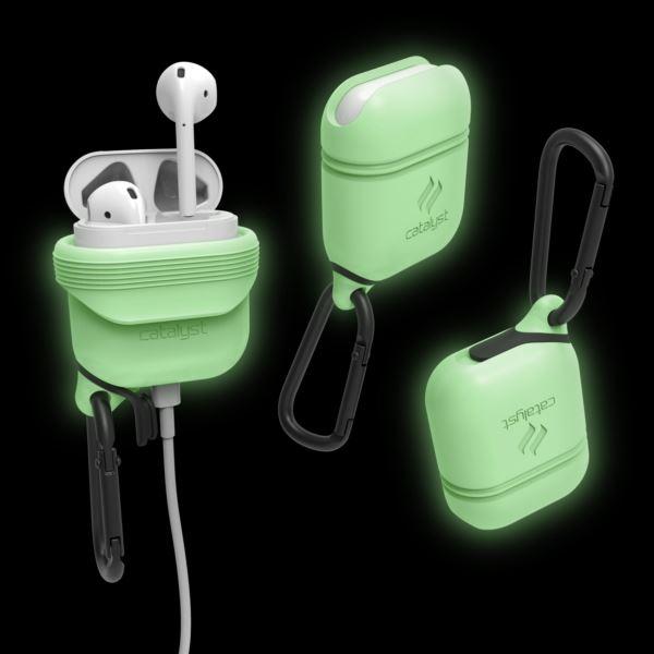 Catalyst® Glow-in-the-Dark waterproof AirPod Case CATAPDGITD