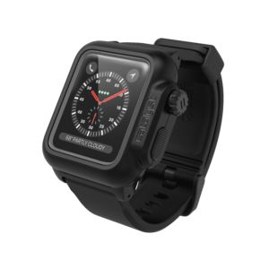 Catalyst® waterproof case for Apple Watch Series 3 / 2, 42mm - Stealth Black CAT42WAT3BLK